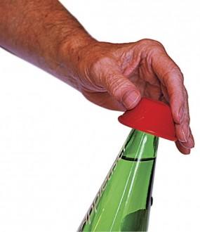 Abre garrafa anti-deslizante
