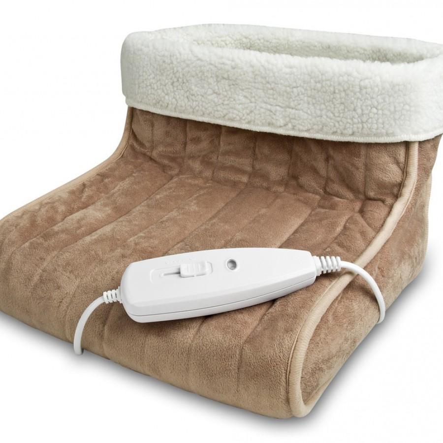 Relaxador de pés frios com aquecedor