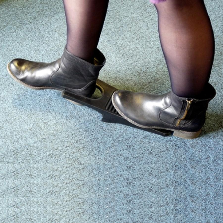 Descalçador anti-derrapante
