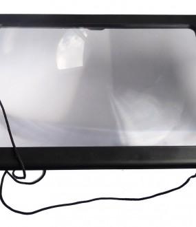 Lupa XL com iluminação LED