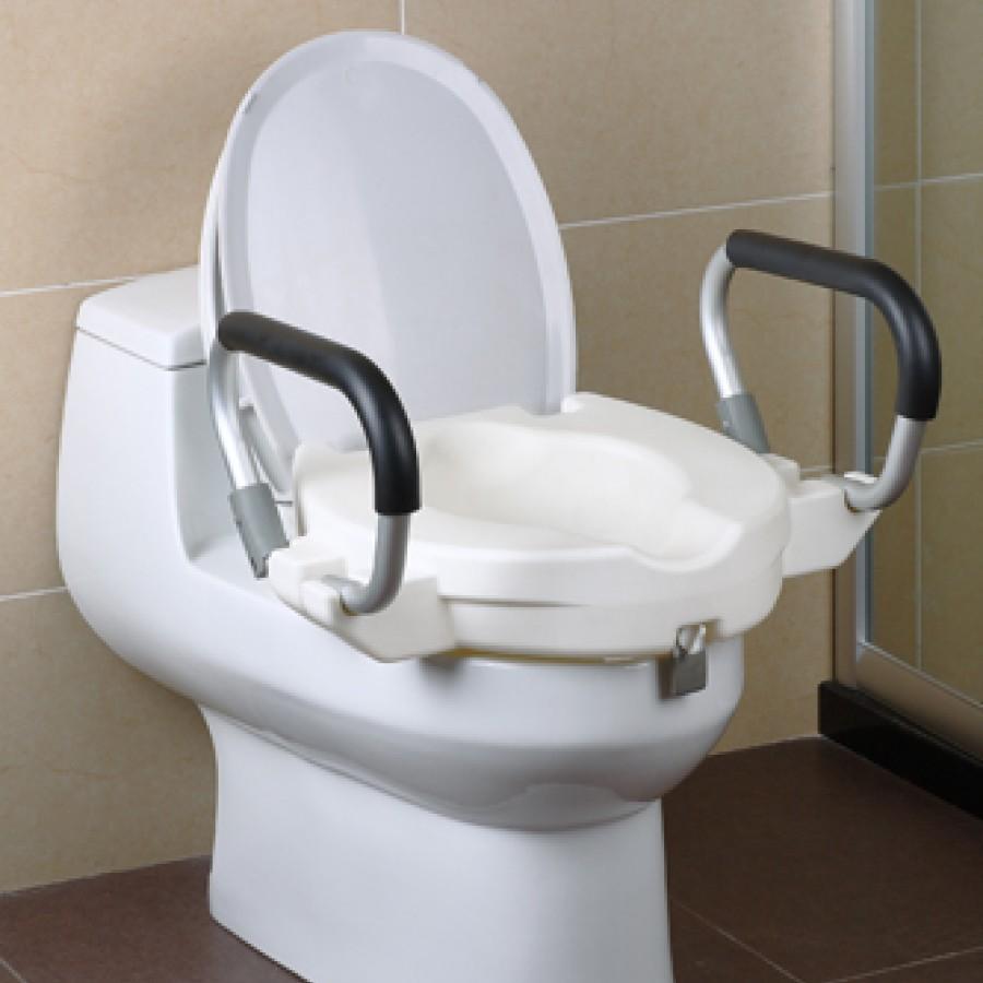 Assento elevado de sanita